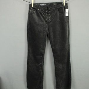 AG Adriano Goldschmied Capris Size 28 Black Womens
